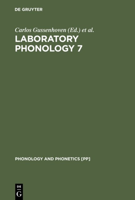 Laboratory Phonology 7