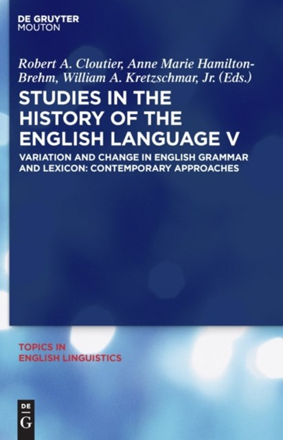 (ebook) Studies in the History of the English Language V