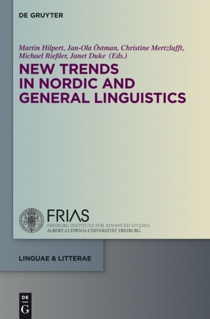 (ebook) New Trends in Nordic and General Linguistics