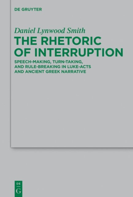 Rhetoric of Interruption