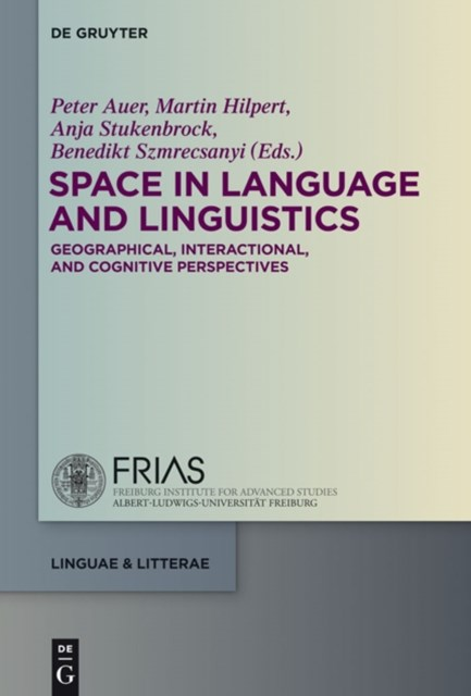 (ebook) Space in Language and Linguistics