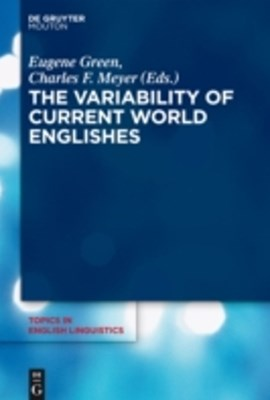 (ebook) Variability of Current World Englishes