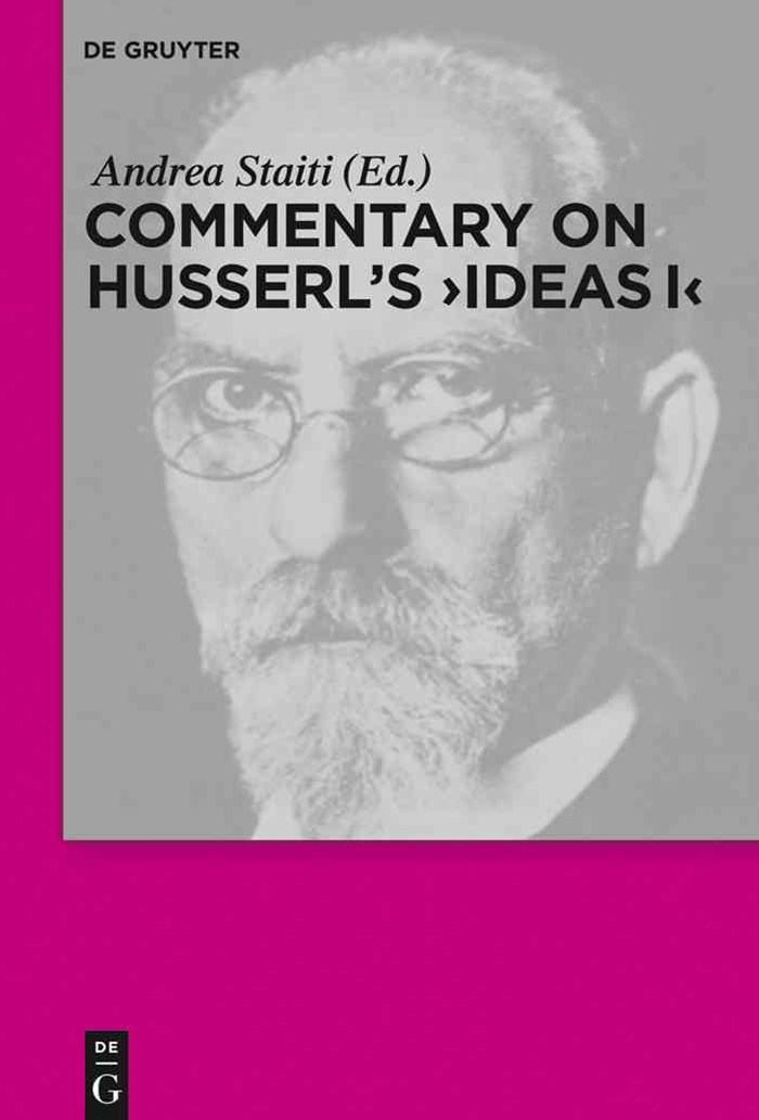 Commentary on Husserl's Ideas I