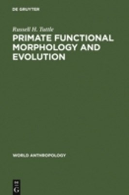 (ebook) Primate Functional Morphology and Evolution