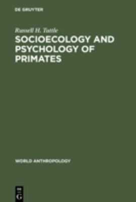 (ebook) Socioecology and Psychology of Primates