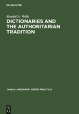 Dictionaries and the Authoritarian Tradition