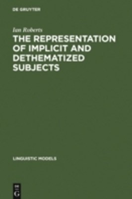 Representation of Implicit and Dethematized Subjects