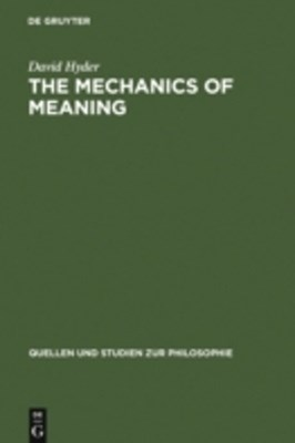 Mechanics of Meaning