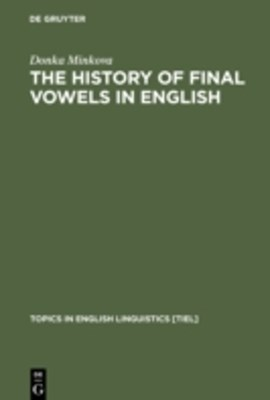 History of Final Vowels in English