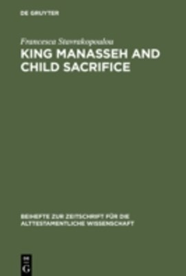 (ebook) King Manasseh and Child Sacrifice