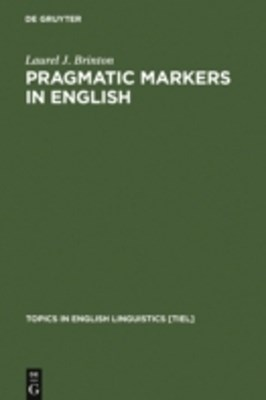 Pragmatic Markers in English