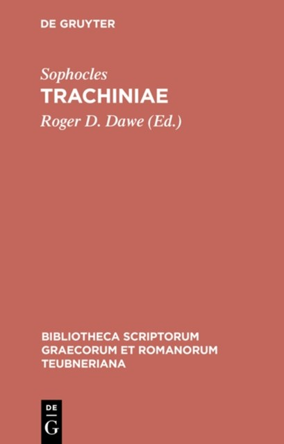 (ebook) Trachiniae