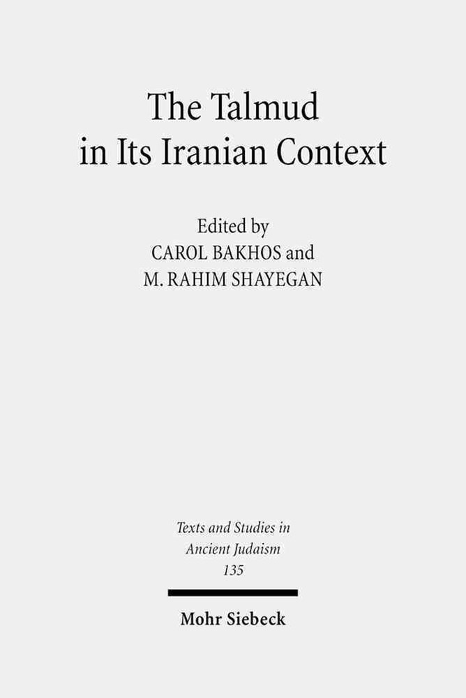 The Talmud in Its Iranian Context