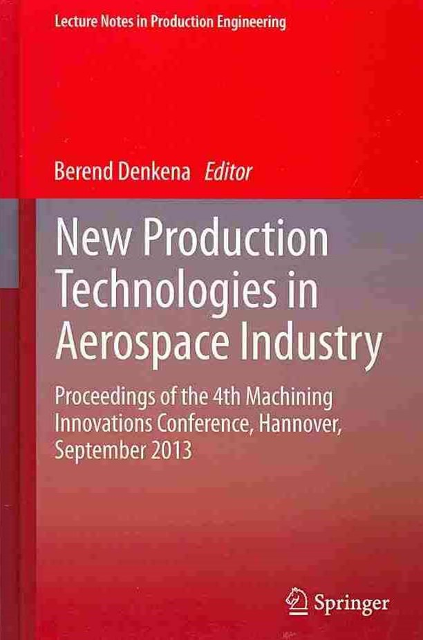 New Production Technologies in Aerospace Industry