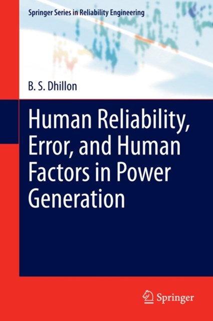 (ebook) Human Reliability, Error, and Human Factors in Power Generation