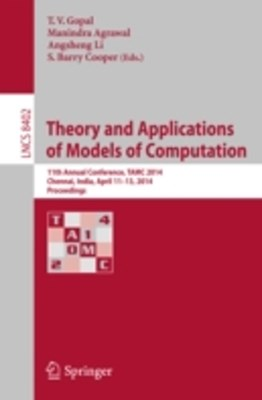 (ebook) Theory and Applications of Models of Computation