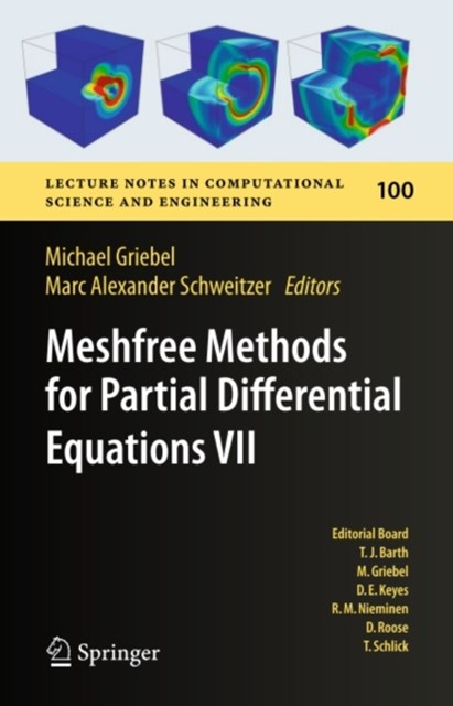 (ebook) Meshfree Methods for Partial Differential Equations VII