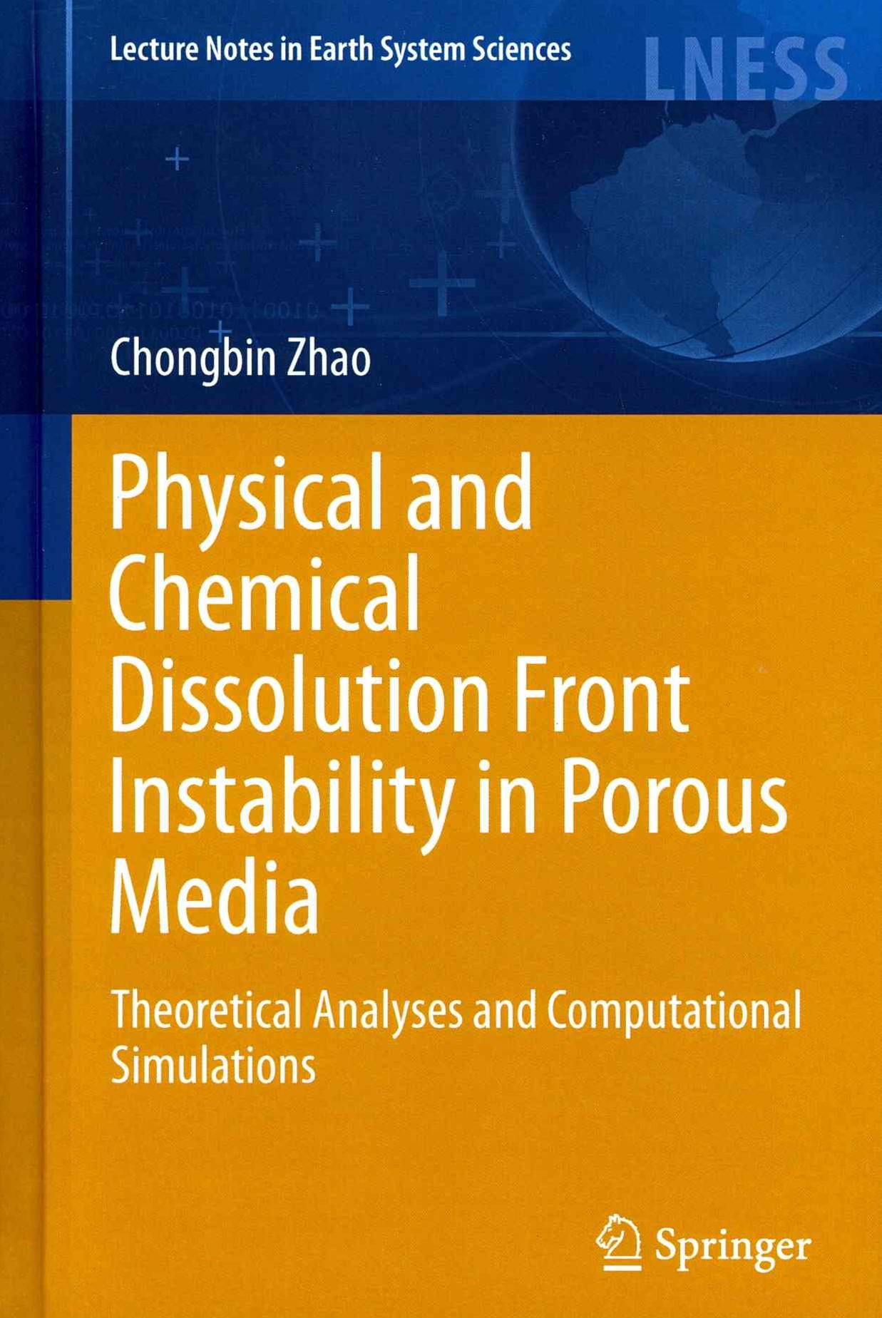 Physical and Chemical Dissolution Front Instability in Porous Media