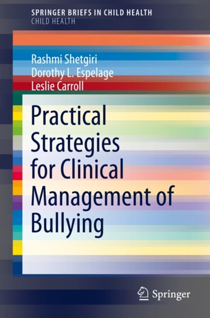 (ebook) Practical Strategies for Clinical Management of Bullying