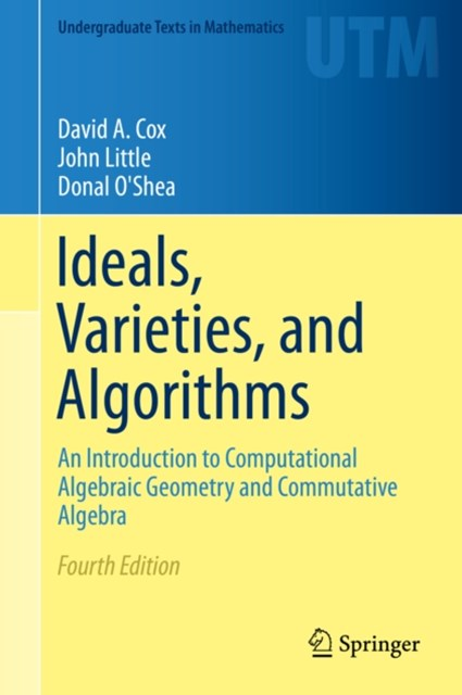 (ebook) Ideals, Varieties, and Algorithms