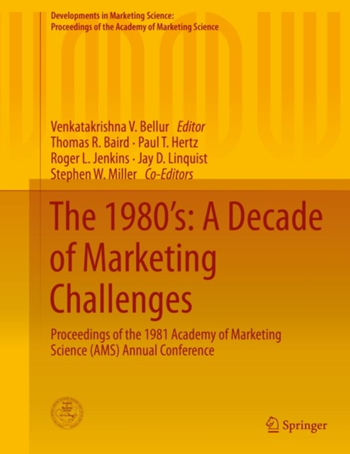 1980's: A Decade of Marketing Challenges