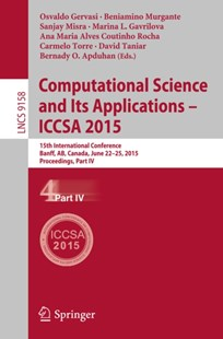 (ebook) Computational Science and Its Applications -- ICCSA 2015 - Computing Database Management