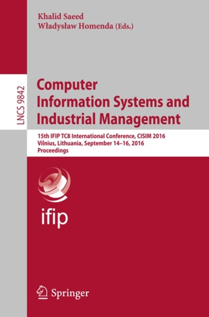 (ebook) Computer Information Systems and Industrial Management