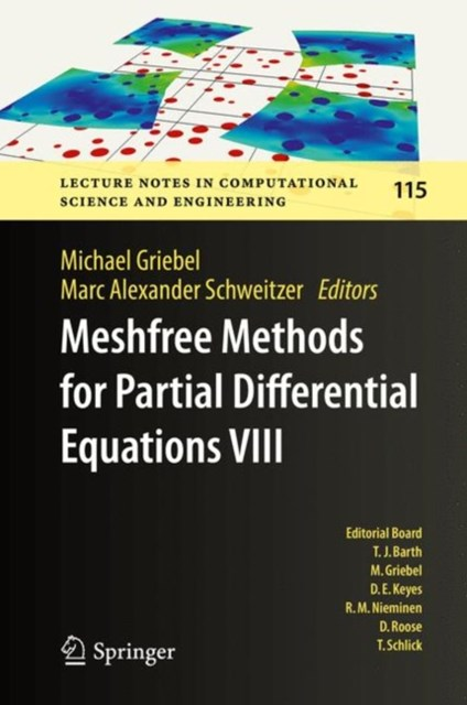 (ebook) Meshfree Methods for Partial Differential Equations VIII