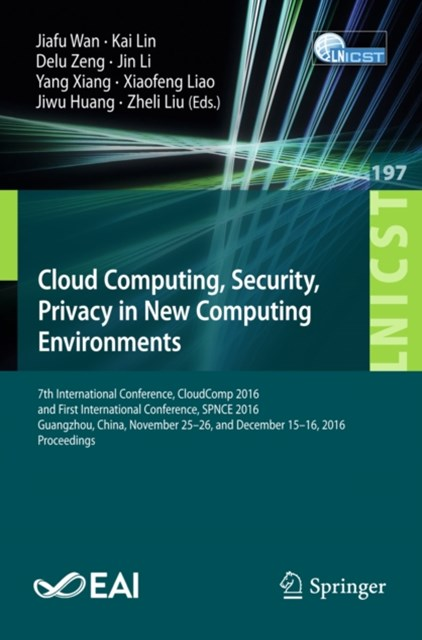 (ebook) Cloud Computing, Security, Privacy in New Computing Environments