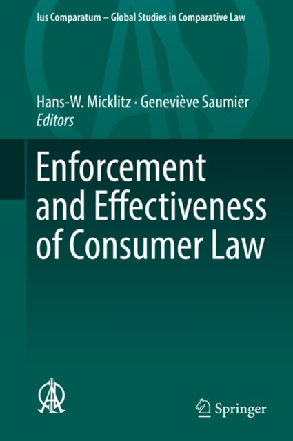 (ebook) Enforcement and Effectiveness of Consumer Law