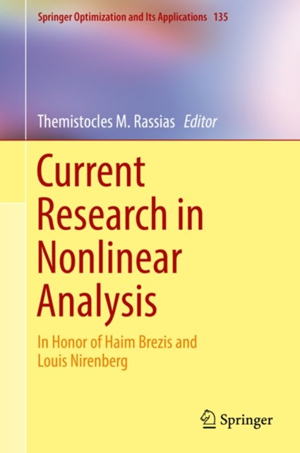 (ebook) Current Research in Nonlinear Analysis