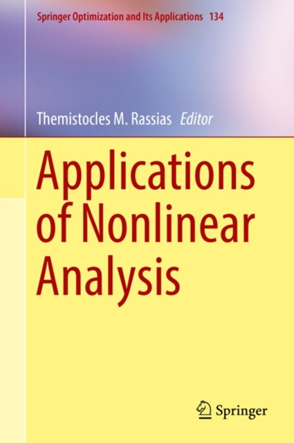 (ebook) Applications of Nonlinear Analysis