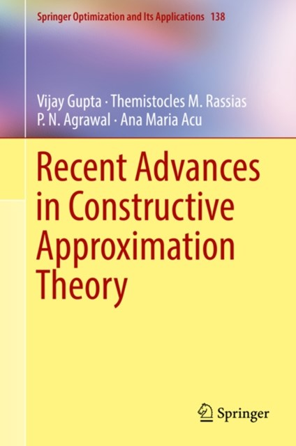 (ebook) Recent Advances in Constructive Approximation Theory