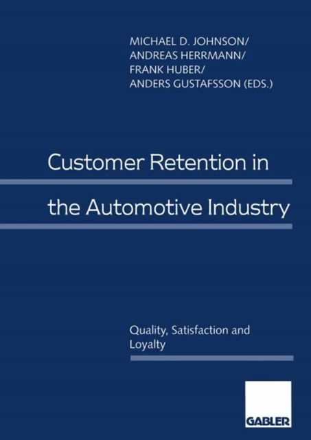 (ebook) Customer Retention in the Automotive Industry