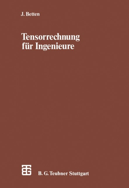 (ebook) Tensorrechnung fur Ingenieure