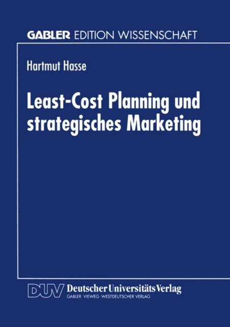 Least-Cost Planning und strategisches Marketing