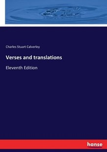 Verses and translations by Charles Stuart Calverley (9783337185510) - PaperBack - Poetry & Drama Poetry