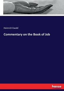 Commentary on the Book of Job by Heinrich Ewald (9783337189372) - PaperBack - Religion & Spirituality Christianity