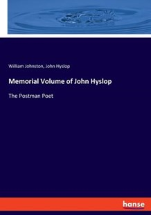 Memorial Volume of John Hyslop by William Johnston, John Hyslop (9783337777968) - PaperBack - Social Sciences