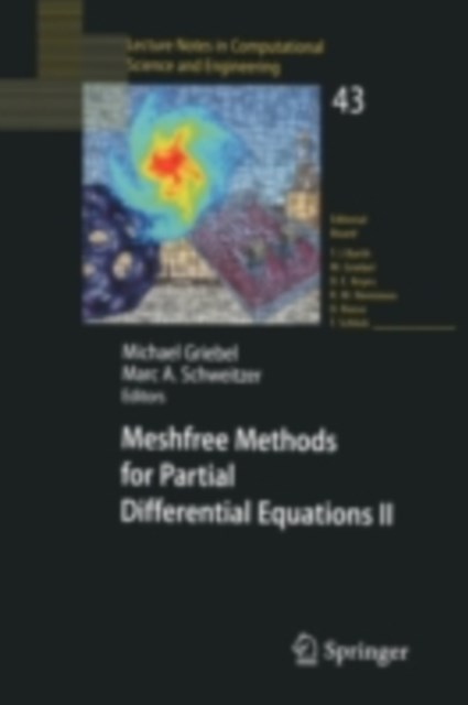 (ebook) Meshfree Methods for Partial Differential Equations II