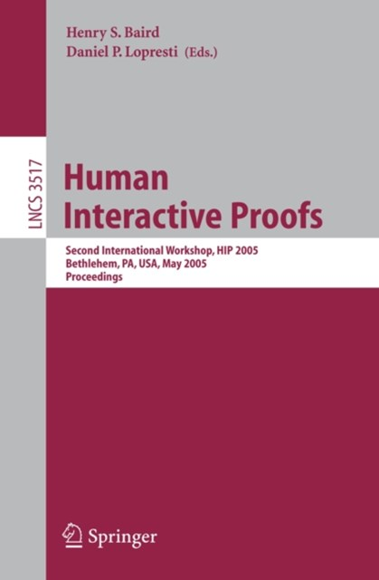 Human Interactive Proofs