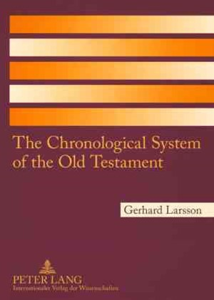 Chronological System of the Old Testament