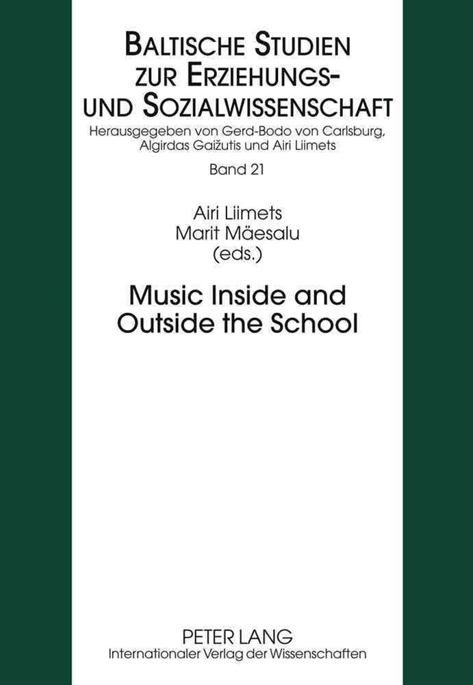 Music Inside and Outside the School