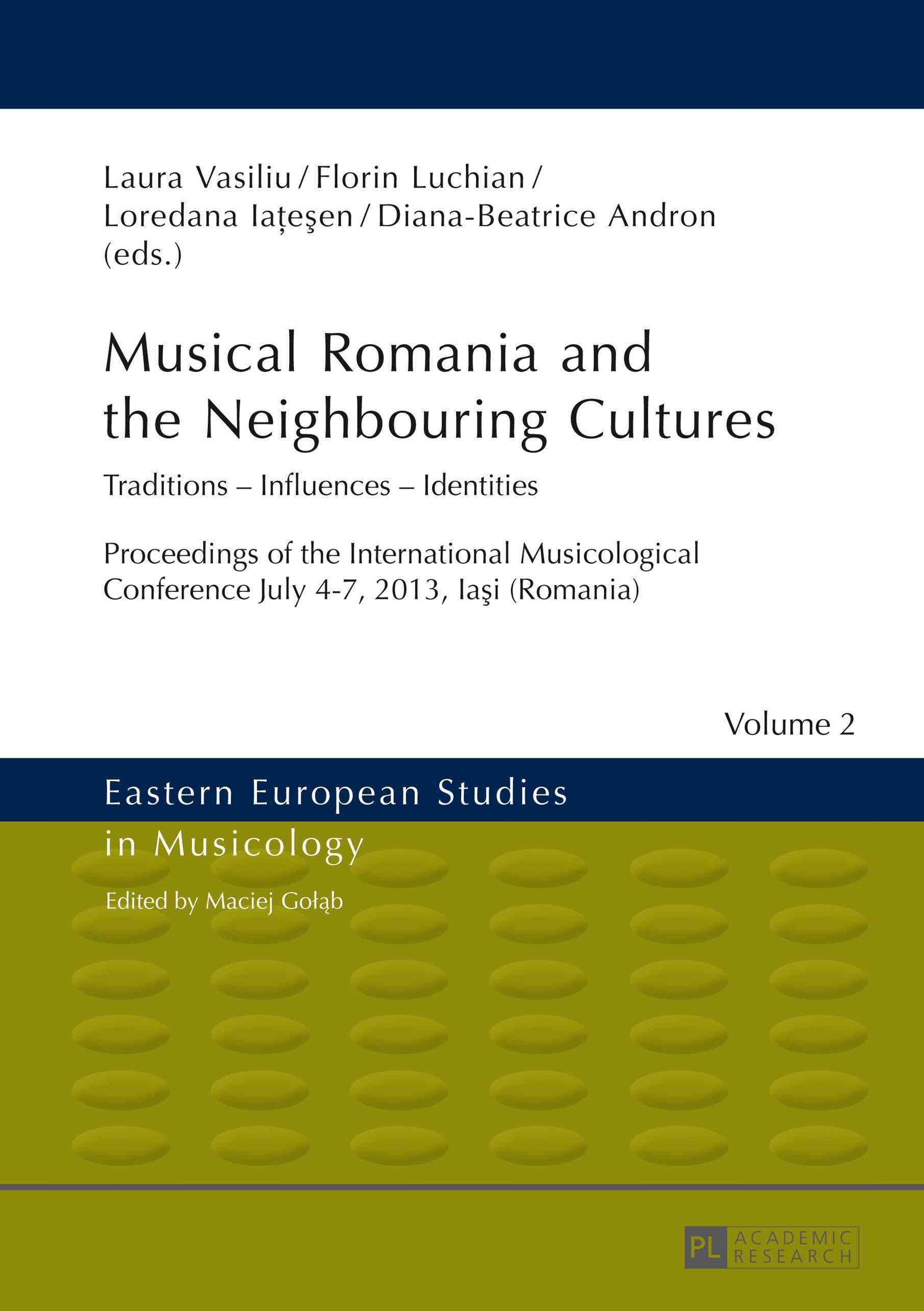 Musical Romania and the Neighbouring Cultures