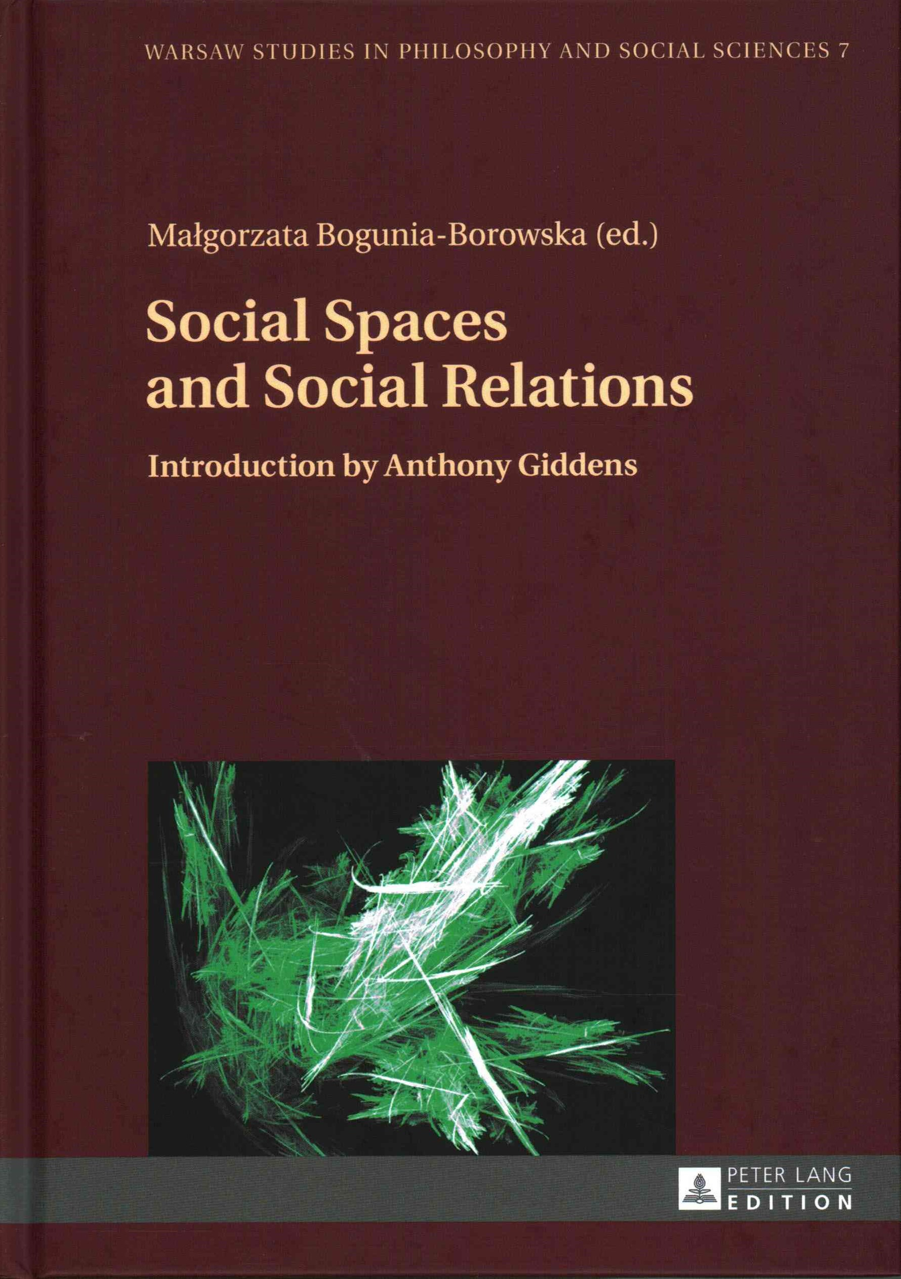 Social Spaces and Social Relations