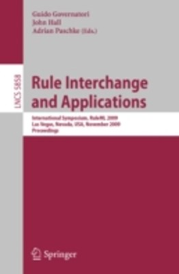 Rule Interchange and Applications