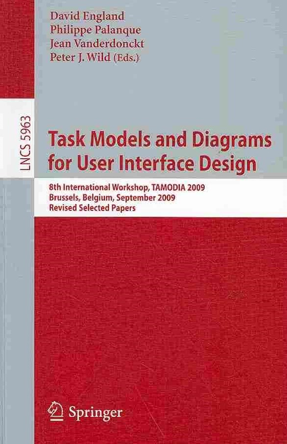 Task Models and Diagrams for User Interface Design