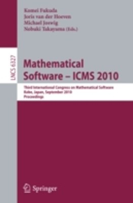 Mathematical Software - ICMS 2010
