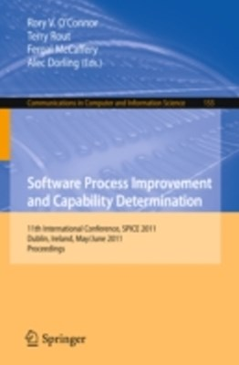 (ebook) Software Process Improvement and Capability Determination