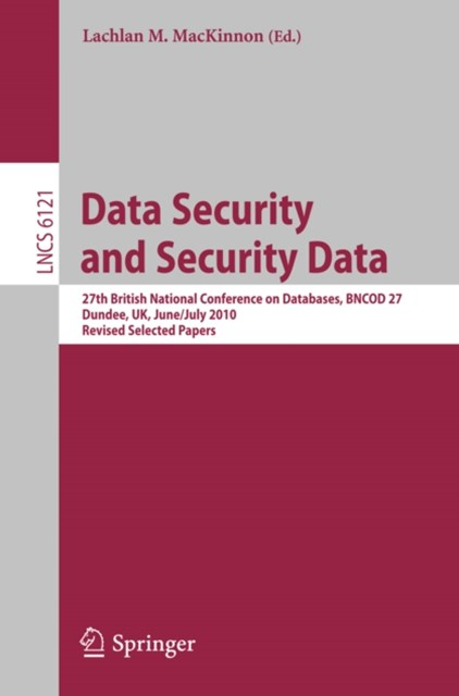 (ebook) Data Security and Security Data